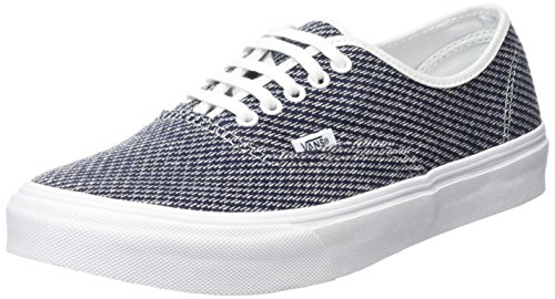 Vans Authentic Slim, Unisex Adults' Low-Top Sneakers Navy/Truewhite