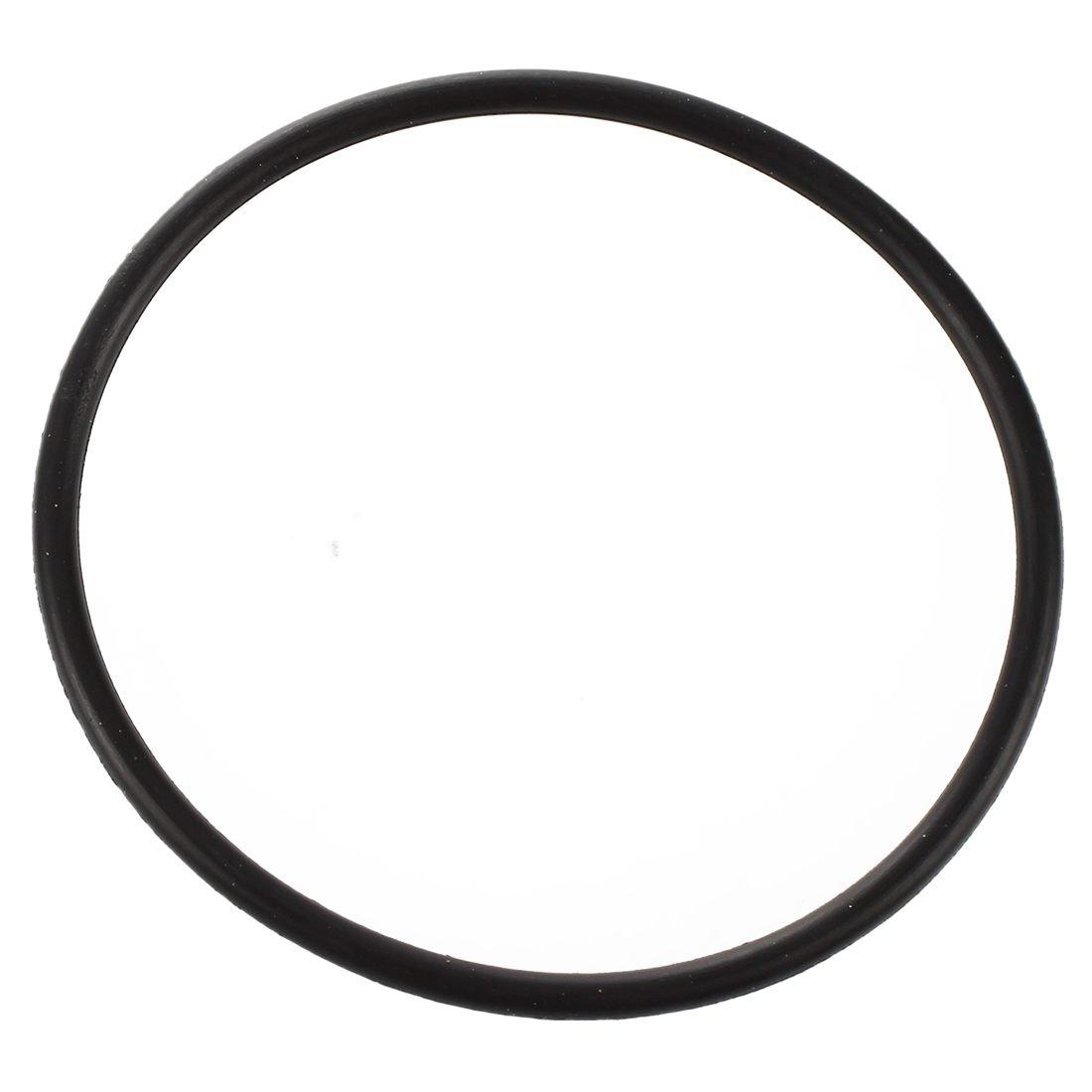 Semoic 10 x Junta torica de goma de Nitrilo Negro para sello de aceite 36mm x 40mm x 2mm