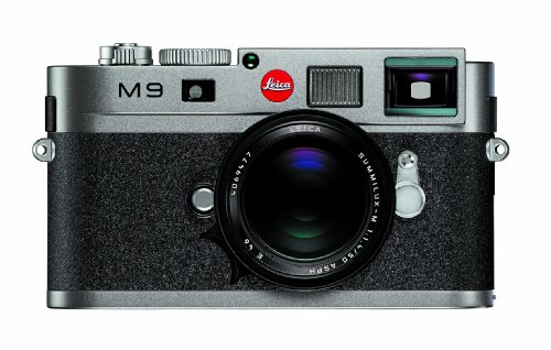 Amazon Leica M9 18MP Digital Range Finder Camera Steel Gray Body Only Point And Shoot Cameras Photo