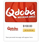 Qdoba Mexican Grill Gift Cards - E-mail Delivery