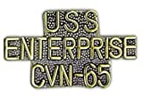 USS ENTERPRISE CVN-65 Small Pin