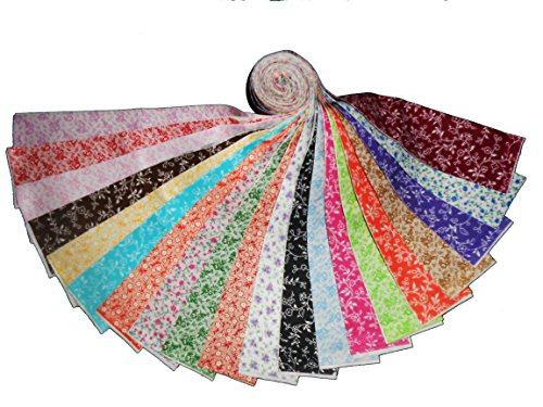 20 2.5'' Antique Calico Reproductions Jelly Roll WOF- 20 different- 1 of each by Galaxy