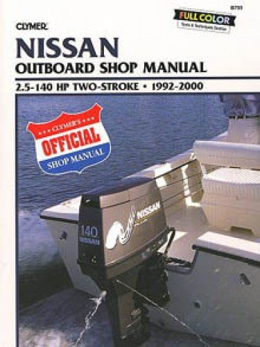 B793 1992-2000 Nissan Outboard Repair Manual by Clymer