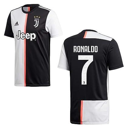 adidas Juventus Turin Trikot Home Kinder 2020 Ronaldo 7, Größe:140