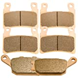 Front and Rear Sintered Brake Pads for Honda CBR 600 F4i Sport 2001-2006