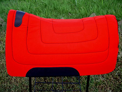CHALLENGER Western English Horse Saddle PAD Cordura Top Felt Bottom Contour Pony 3989OR