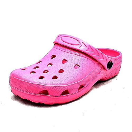 Zapatos de goma unisex de playa / sandalias Color de rosa