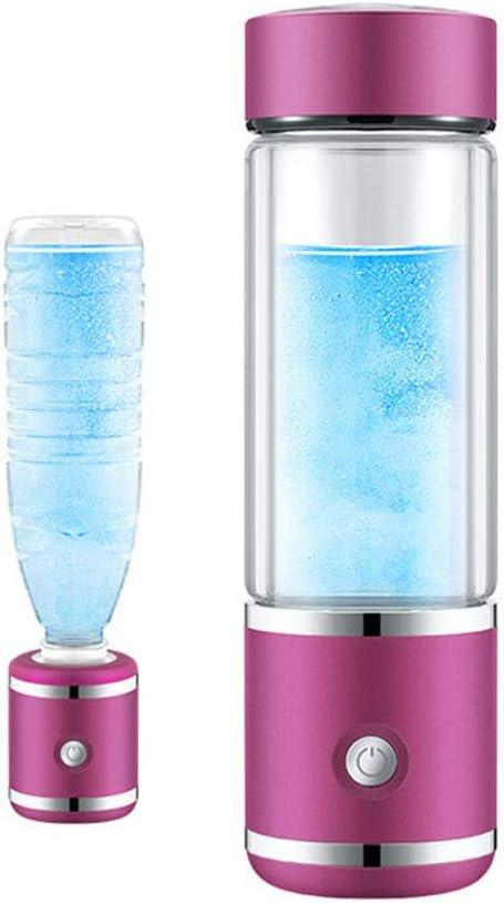 Botella de hidrógeno alcalino del agua, botella de agua de hidrógeno generador inteligente de un solo clic Operación electrolizada Máquina de agua, adecuado para viajes u oficina: Amazon.es: Bricolaje y herramientas