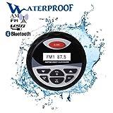 Herdio Waterproof Marine Digital Media AM/FM Stereo