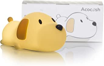 Acocosh LED Baby Night Light for Kids, Cute Puppy Night Touch Lamp, Nursery Soft Silicone Breastfeeding Nightlight, USB Rechargeable, Adjustable Brightness Dual Color, Children Gift