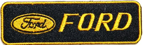 Ford V8 Motors Automotive Racing Logo Sign Car Patch Sew Iron on Applique Embroidered T Shirt Jacket Costume