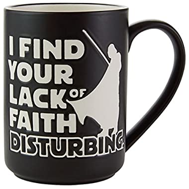 Star Wars Lack of Faith Mug Mugs & Teacups Sci-Fi; Movies & TV