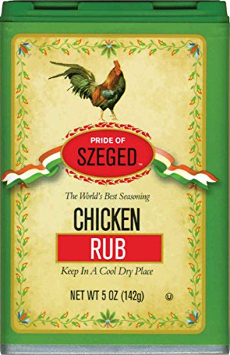 Szeged Chicken Rub in, 5-Ounce Tins (Pack of 6)