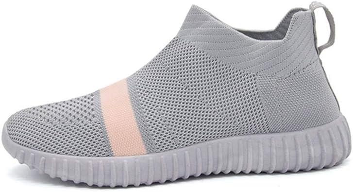 Las Mujeres Zapatillas de Moda Verano Tendencia Calcetines Zapatillas luz Alta Superior al Aire Libre Jogging Zapatillas Deportivas Juveniles: Amazon.es: Zapatos y complementos