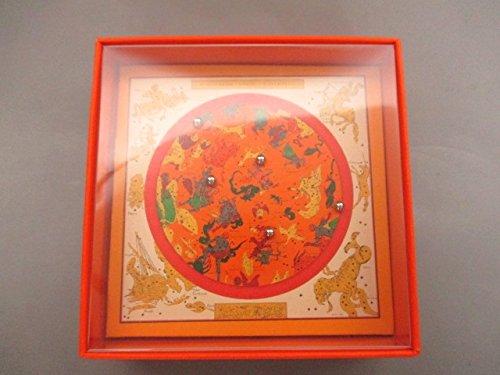 (エルメス) HERMES 小物 星を巡る旅展1999/バランスゲーム オレンジ×シルバー 【中古】 B07F3XZ7SX  -
