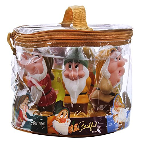 Disney Parks Exclusive Snow White and the Seven Dwarfs Pool Bath Tub Toys