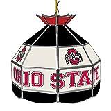 NCAA Ohio State University Tiffany Gameroom Lamp, 16''
