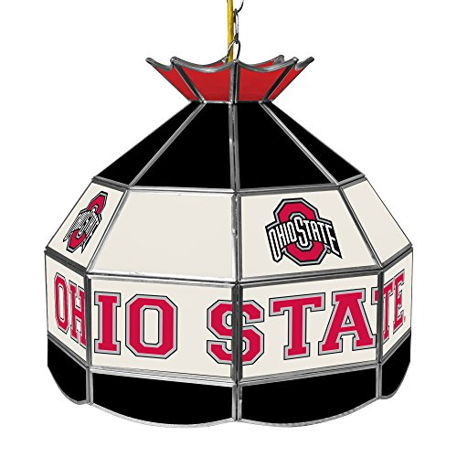 NCAA Ohio State University Tiffany Gameroom Lamp, 16