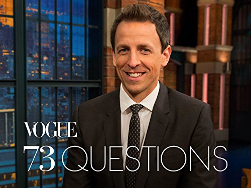 73 Questions with Seth Meyers (Shop Vogue)