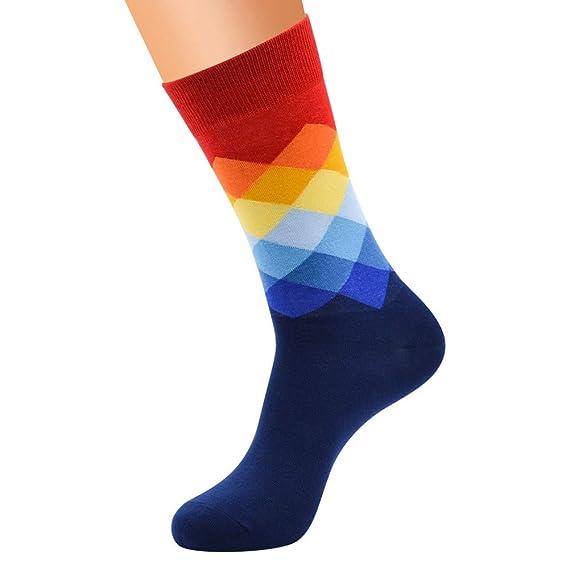 Sylar Calcetines Hombres Deportivos Invierno Moda Estampado Colorear Populares Calcetines Cálido Suave Algodón Casual Calcetines