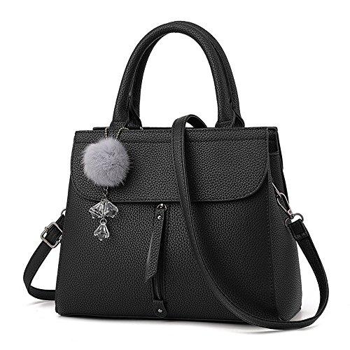 Bolso Aire Azul Bolso Black Moda Nueva Clásico Casual GWQGZ Minimalista Señoras De q06vwzx