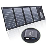 20W High Efficiency Solar Charger with Dual Voltage Controller for Cell phone ,ipad, USB and moreN (Camouflage)
