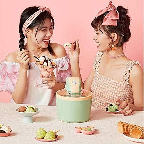 NLRHH Ice Cream Maker Machine avec Grand 2L Amovible intérieure Bol et Finition en Acier Inoxydable □ Idéal for la crème glacée, Sorbet et Yaourt glacé, 1200ml Peng