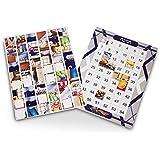 Jewish Essentials Chanukah Sticker Puzzle in Blue, Purple, Brown, Multi-Colored, Orange, Grey, Toy