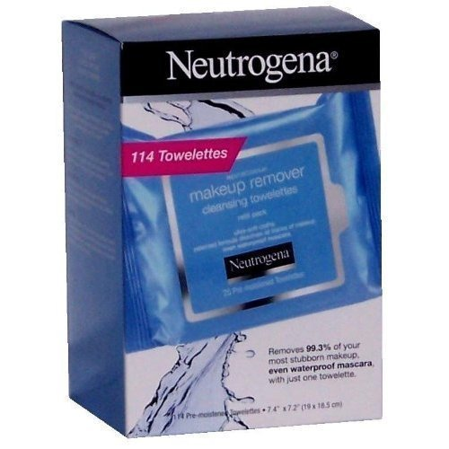 Neutrogena Makeup Remover Cleansing Towelettes, 114 Towelett