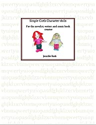 Soft character dolls for writers