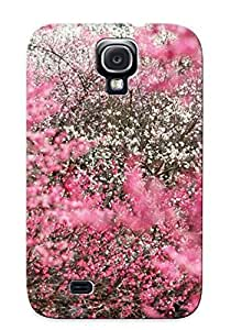 Galaxy S4 BWuByvE1277WnFAz Cherry Trees Tpu Silicone Gel Case Cover For Lovers