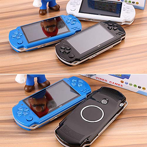 Handheld Game Console with Built in Games,Portable Video Games for Kids Retro,Built-In 500 Classic Video Games Player Gameboy with 4.3'' 8GB System for Birthday Presents Kids Children Adults (Black) by Womdee (Image #9)