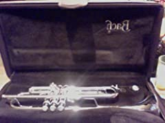 180S43 Stradivarius Series Bb Trumpet 180S43 Silver. The popular design of the Stradivarius Series is combined with the #43 taper bell that has a slower taper to produce a brighter sound that is more brilliant and open than the standard #37 t...