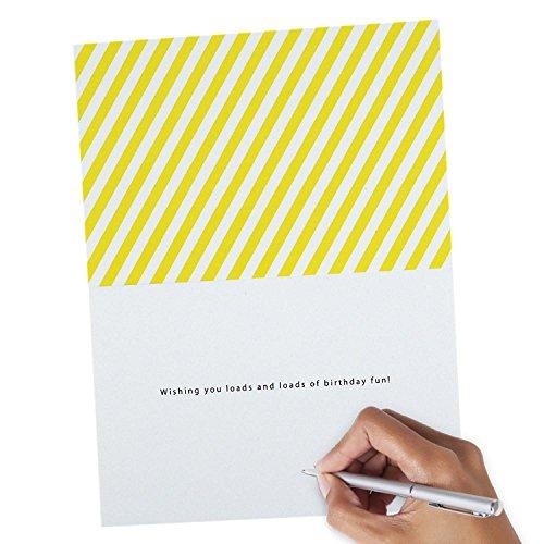 Hallmark Signature Birthday Greeting Card for Kids (Loads of Birthday Fun) Photo #7