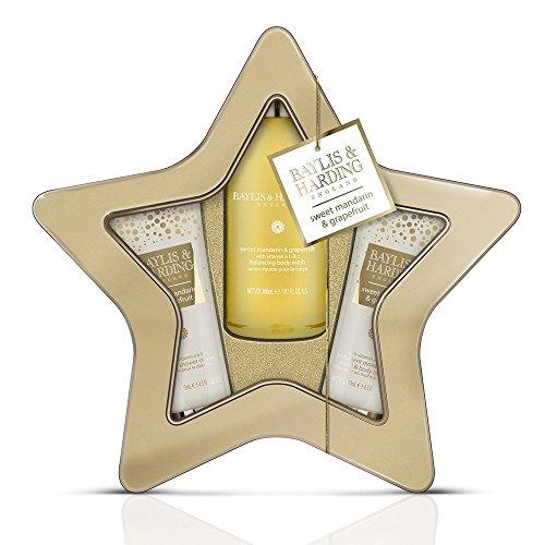 Baylis and Harding Sweet Mandarin & Grapefruit Shower Sensation Star Tin (Sky Mint Tin)