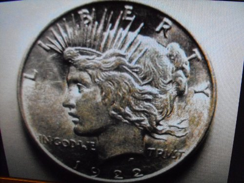 1922-1925 Peace Silver - Peace Dollar Coin 1922