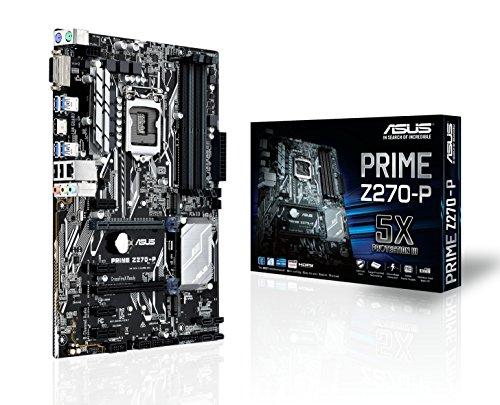 ASUS PRIME Z270-P LGA1151 DDR4 HDMI DVI M.2 USB 3.0 Z270 ATX Motherboard PRIME Z270-P (K53sv Motherboard)