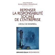 REPENSER LA RESPONSABILITÉ SOCIALE DE L'ENTREPRISE