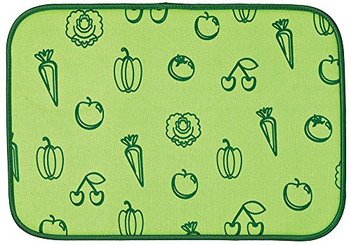 fruit and vegetable drying mat - 1
