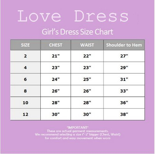 Love Dress Tulle Applique Wedding Girls Dress Christmas Present Us 6 by Love To Dress (Image #3)