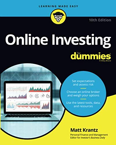 51wjE2s5HeL - Online Investing For Dummies, 10th Edition