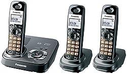 Panasonic Kx-tg9333t Dect 6.0 Cordless Phone