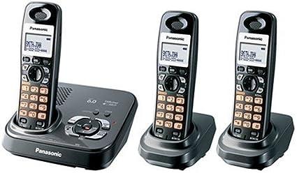 amazon com panasonic kx tg9333t dect 6 0 cordless phone rh amazon com Panasonic Kx Phone Manual Panasonic Owner's Manual