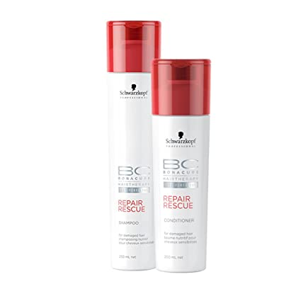 Schwarzkopf Hairtherapy Repair Rescue Shampoo Conditioner Combo