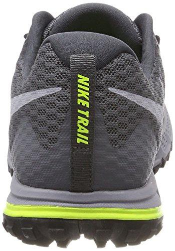 Nike Herren Air Zoom Wildhorse 4 Laufschuhe Grau (Grisfoncé/noir/discret/grisloup)