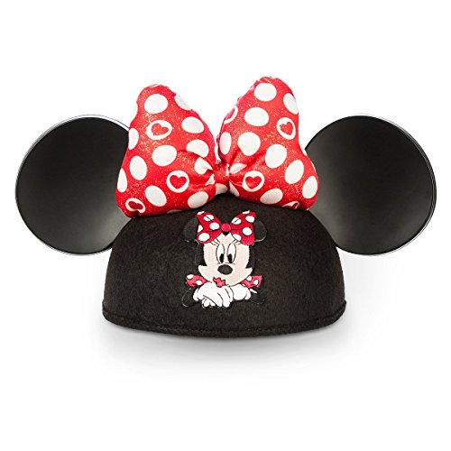 Disney Parks Minnie Mouse Ears Hat Polka Dots Hearts for $<!--$9.90-->