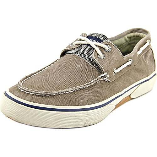 Sperry Top-Sider Halyard 2-Eye,Ecru,10 M US Choco/Honey