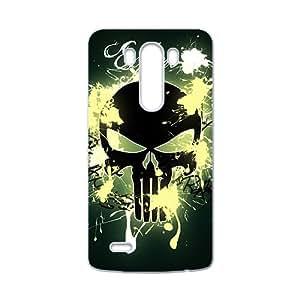 Creative Skull Pattern Custom Protective Hard Phone Cae For LG G3