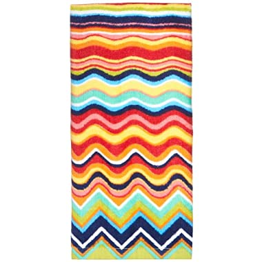 Fiesta Multicolor Zig Zag Kitchen Towel MULTI