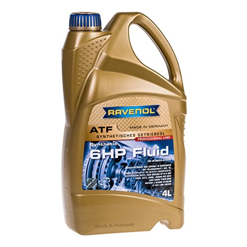 Shell 004 Series - Ravenol J1D2110-004 ATF (Automatic Transmission Fluid) - 6HP Fluid for ZF 6HP Transmissions (4 Liter)